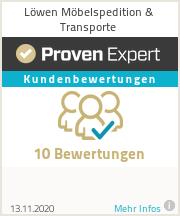 Erfahrungen & Bewertungen zu Löwen Möbelspedition & Transporte