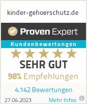 Erfahrungen & Bewertungen zu kinder-gehoerschutz.de