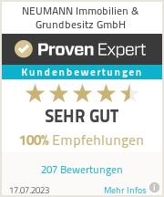 Erfahrungen & Bewertungen zu NEUMANN Immobilien & Grundbesitz GmbH