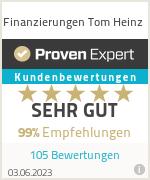 Erfahrungen & Bewertungen zu Finanzierungen Tom Heinz