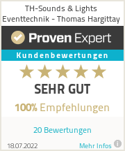 Erfahrungen & Bewertungen zu TH-Sounds & Lights Eventtechnik - Thomas Hargittay