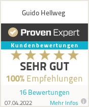 Erfahrungen & Bewertungen zu Guido Hellweg