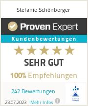 Erfahrungen & Bewertungen zu Stefanie Schönberger