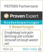 Erfahrungen & Bewertungen zu PESTODO Fachversand