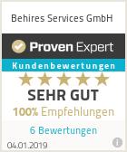 Erfahrungen & Bewertungen zu Behires Enterprise