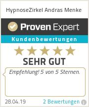 Erfahrungen & Bewertungen zu HypnoseZirkel Andras Menke
