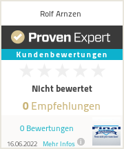 Erfahrungen & Bewertungen zu Rolf Arnzen