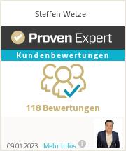 Erfahrungen & Bewertungen zu Steffen Wetzel