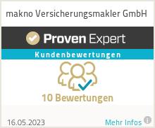 Erfahrungen & Bewertungen zu makno Versicherungsmakler GmbH