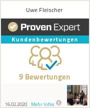 Erfahrungen & Bewertungen zu Uwe Fleischer