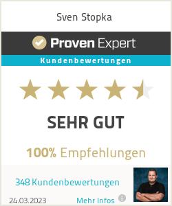 Erfahrungen & Bewertungen zu Sven Stopka