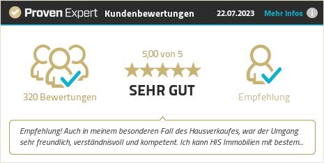 Kundenbewertungen & Erfahrungen zu HIS Immobilien GmbH. Mehr Infos anzeigen.