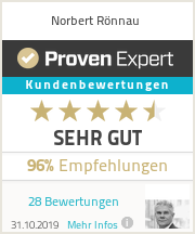 Erfahrungen & Bewertungen zu Norbert Rönnau