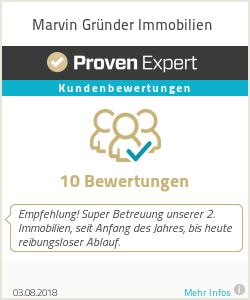 Erfahrungen & Bewertungen zu Marvin Gründer Immobilien