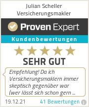 Erfahrungen & Bewertungen zu Julian Scheller Versicherungsmakler