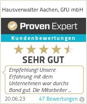 Erfahrungen & Bewertungen zu Hausverwalter Aachen, GfU mbH