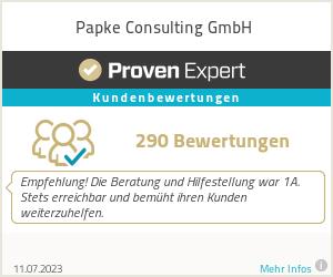 Erfahrungen & Bewertungen zu Papke Consulting GmbH & Co. KG