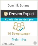 Erfahrungen & Bewertungen zu Dominik Schanz