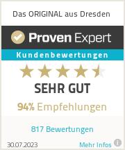 Erfahrungen & Bewertungen zu Das ORIGINAL aus Dresden