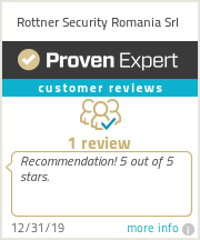 Ratings & reviews for Rottner Security Romania Srl