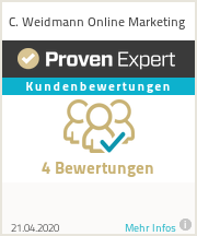 Erfahrungen & Bewertungen zu C. Weidmann Online Marketing