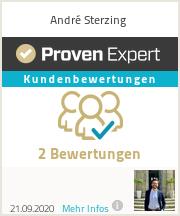 Erfahrungen & Bewertungen zu André Sterzing