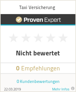 Erfahrungen & Bewertungen zu Taxi Versicherung