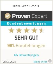 Erfahrungen & Bewertungen zu Kniv-Web GmbH