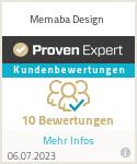 Erfahrungen & Bewertungen zu Memaba Design