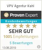 Erfahrungen & Bewertungen zu VPV Agentur Kahl