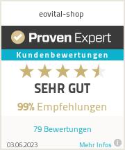 Erfahrungen & Bewertungen zu eovital-shop