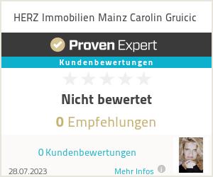 Erfahrungen & Bewertungen zu HERZ Immobilien Mainz Carolin Gruicic