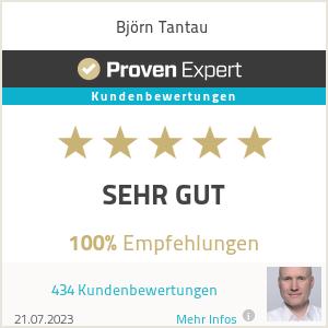 Erfahrungen & Bewertungen zu Björn Tantau