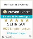 Erfahrungen & Bewertungen zu Herröder IT-Systems