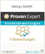 Erfahrungen & Bewertungen zu Seesys GmbH