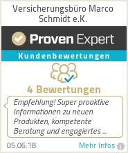 Erfahrungen & Bewertungen zu Versicherungsbüro Marco Schmidt e.K.