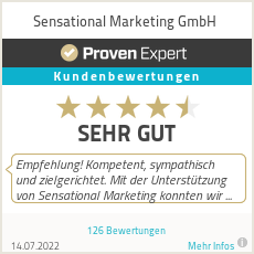 Erfahrungen & Bewertungen zu SENSational Marketing