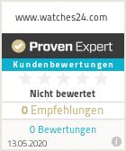 Erfahrungen & Bewertungen zu www.watches24.com