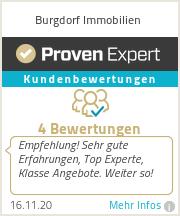 Erfahrungen & Bewertungen zu Burgdorf Immobilien