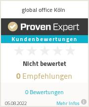 Erfahrungen & Bewertungen zu global office Köln