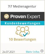 Erfahrungen & Bewertungen zu 7i7 Medienagentur