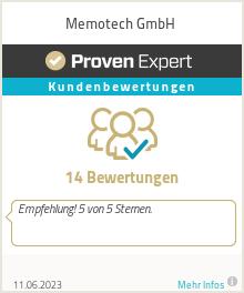 Erfahrungen & Bewertungen zu Memotech GmbH
