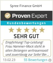 Erfahrungen & Bewertungen zu Spree Finance GmbH