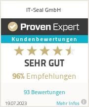 Erfahrungen & Bewertungen zu IT-Seal GmbH