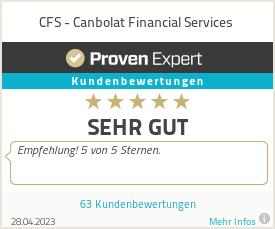Erfahrungen & Bewertungen zu CFS - Canbolat Financial Services