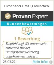 Erfahrungen & Bewertungen zu Eichenseer Umzug München