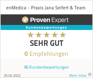 Erfahrungen & Bewertungen zu enMedica - Praxis Jana Seifert & Team