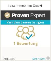 Erfahrungen & Bewertungen zu Juka Immobilien UG