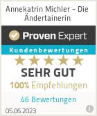Erfahrungen & Bewertungen zu Annekatrin Michler - Die Ändertainerin