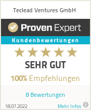 Experience & Ratings on Teclead UG
